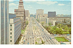 Toronto, Ontario, University Avenue Postcard (Image1)