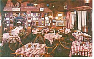 Harrisburg PA  Penn Harris Hotel Tavern Postcard p10513 (Image1)
