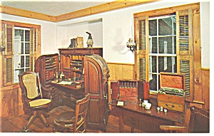 Mystic Seaport CT The Doctor s Office Postcard p10532 (Image1)
