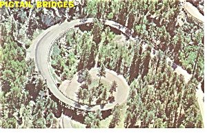 Black Hills,SD, Pigtail Bridges Postcard (Image1)