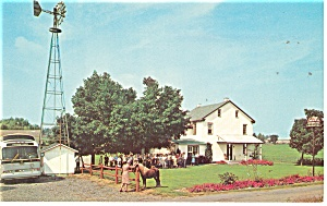 Intercourse,PA, Stoltzfus Dutch Farm House Postcard (Image1)