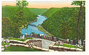 Hawks Nest State Park, WV Postcard (Image1)