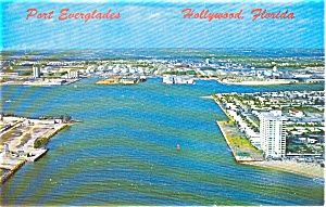 Port Everglades FL Postcard p1055 (Image1)