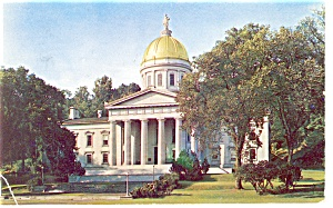 Montpelier Vermont State Capitol Postcard (Image1)