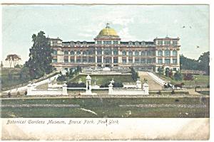 New York NY Botanical Gardens Postcard p10627 ca 1907 (Image1)