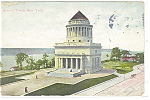 New York NY Grant s Tomb Postcard p10636 1912 (Image1)