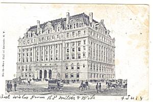 New York NY Hall of Records Postcard p10640 1906 (Image1)