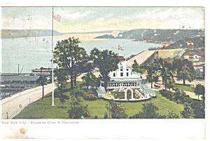 New York NY Riverside Drive Claremont Postcard p10643 1907 (Image1)
