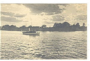 Thousand Islands NY St Lawrence River Postcard p10650 (Image1)
