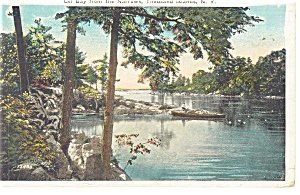 Thousand Islands NY Eel Bay From Narrows Postcard p10652 (Image1)