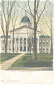 Hudson,NY, Court House Postcard (Image1)