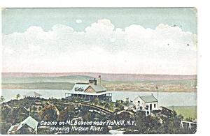 Fishkill NY Casino on Mt Beacon Postcard p10663 (Image1)