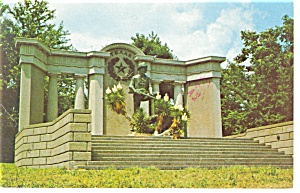 Vicksburg ,MS, Texas Monument Postcard 1982 (Image1)
