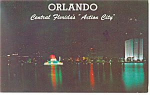 Orlando FL Action City Postcard p10775 (Image1)