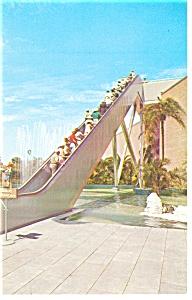 Tampa,FL, Busch Gardens Stairway Postcard (Image1)