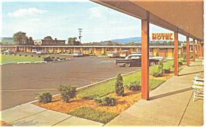 Duncansville PA Penn Alto Motel  Postcard  p10809 (Image1)