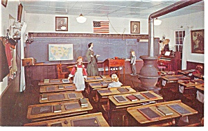 York,PA, Little Red Schoolhouse Museum Postcard (Image1)