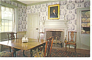 Sturbridge Ma Salem Towne House Interior Postcard P10864