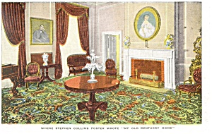 Bardstown KY My Old Kentucky Home Postcard p10867 (Image1)