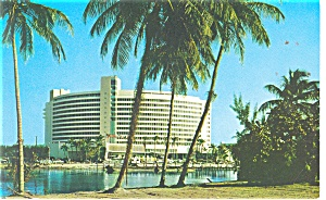 Miami Beach,FL, Fontainbleau Resort Hotel Postcard 1959 (Image1)