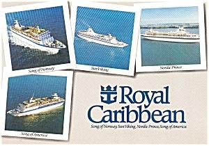 Royal Caribbean Ships Postcard p1087 (Image1)