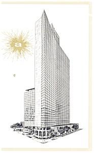 New York City NY Americana Hotel Postcard p10898 (Image1)