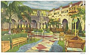 Hershey PA Hotel Hershey-Patio Postcard p10914 (Image1)