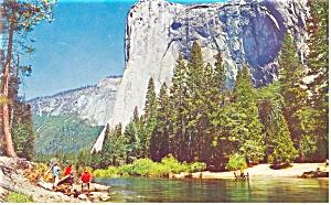El Capitan Yosemite National Park CA Postcard p10959 (Image1)