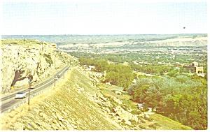 Billings MT Birdseye View Postcard p10976 ca 1960 (Image1)