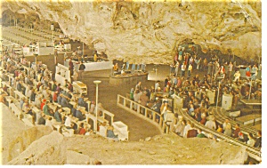 Carlsbad Caverns,NM, Lunch Room Postcard 1961 (Image1)