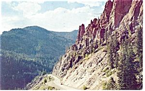 Wolf Creek Pass CO Postcard p10984 ca 1960 (Image1)