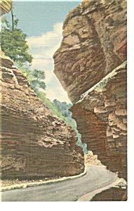 The Narrows Williams Canyon CO Postcard p11020 (Image1)