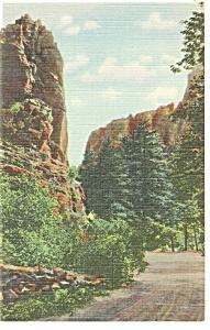 Colorado Springs CO The Mexican Saddle Postcard p11025 (Image1)