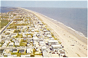 Fenwick Island  DE Aerial View Looking North Postcard p11073 (Image1)