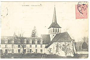 St Hymer L Ancien Prieure French  Postcard p11164 1906 (Image1)