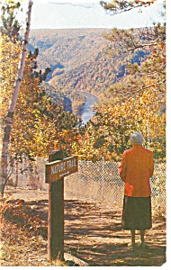 Pennsylvania Grand Canyon Postcard p11171 1963 (Image1)