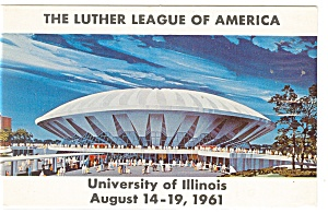 Luther League Convention Postcard P11177 1961