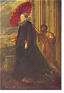 Washington DC Van Dyck Artwork Postcard (Image1)