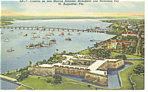 St Augustine FL Matanzas Bay Postcard p11277 (Image1)