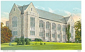 Manhattan, KS, Library K S, Postcard (Image1)
