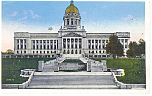 Frankfort, KY State Capitol Postcard (Image1)