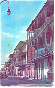 New Orleans, LA French Quarter Postcard (Image1)