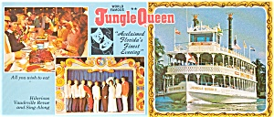 Jungle Queen Steamboat  Postcard p1134 (Image1)