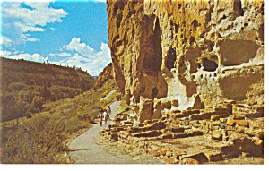 Bandelier National Monument New Mexico Postcard p11421 (Image1)