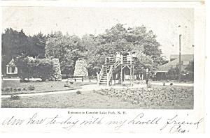 Canobie Lake Park, NH Postcard 1906 (Image1)
