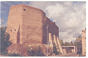 Santa Fe, NM, San Miguel Mission Rear View Postcard (Image1)