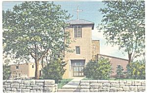 Santa Fe, NM, Old San Miguel Mission Postcard (Image1)