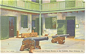 New Orleans, LA, Prison Rooms in the Cabildo Postcard (Image1)