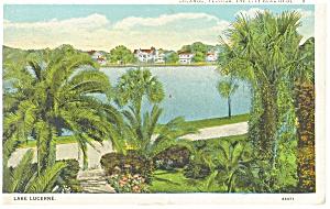 Orlando FL Lake Lucerne Postcard p11557 1927 (Image1)