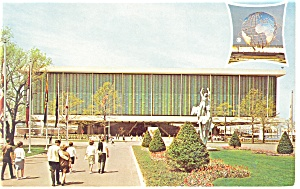 New York World S Fair Postcard Us Pavilion 1964 P11630